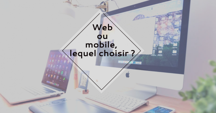 app web et mobile